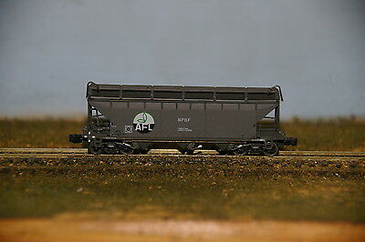 NSWGR - NPBF AFL Fertilizer Hoppers - 5 pack Gopher Models - N Scale