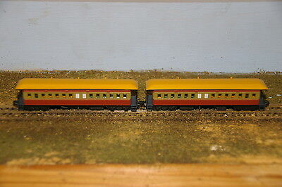 NSWGR - FO Coach Pack - Tuscan & Russett - Gopher Models - N Scale