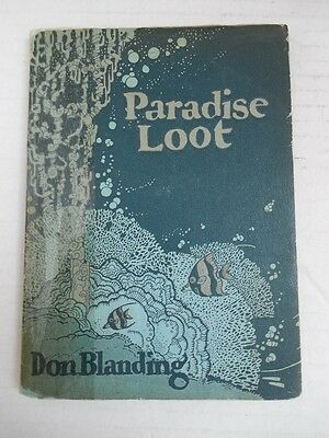 1925 PARADISE LOOT  Don Blanding Verse and Images  HAWAII