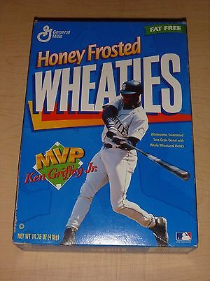 KEN GRIFFEY JR. COLLECTOR EDITION: HONEY FROSTED WHEATIES 1997 gift baseball HOF