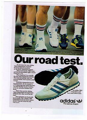 "1979 Adidas ""TRX Competition"" Training Shoe Reproduction Print Advertisement"