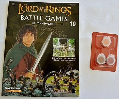 Lord Of The Rings:Battle Games In Middle-Earth–Issue #19 Magazine & miniatures