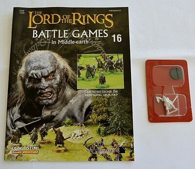 Lord Of The Rings:Battle Games In Middle-Earth–Issue #16 Magazine & miniatures