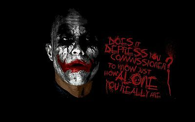 Batman the joker Paintings HD Print on Canvas Home Decor Wall Art Pictures