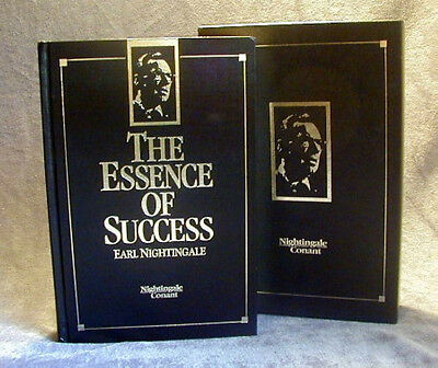 THE ESSENCE OF SUCCESS Earl Nightingale 1ST EDITION  HB with Collector Slipcase