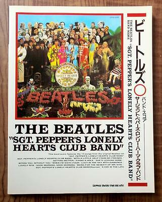 BEATLES - SGT. PEPPER'S LONELY HEARTS CLUB BAND - Japan Band Score Guitar Tab