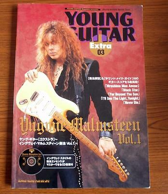 Yngwie Malmsteen  - YOUNG GUITAR EXTRA w/CD - JAPAN GUITAR TAB - Rising Force