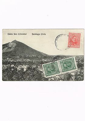 R) 1917 Chile, Postcard From Chuquicamata Reception Antofagasta, Shippednew Zela