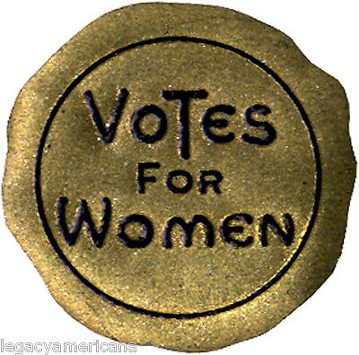 Early 20th Century VOTES FOR WOMEN Suffrage Paper Seal (4909)