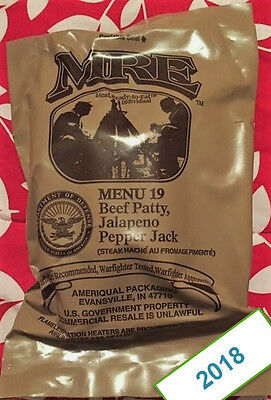 2018 Us Military Issue Meals Ready To Eat - Mre - Pick A Menu - Singles