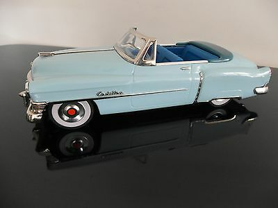 1950 CADILLAC CONVERTIBLE 50s JAPAN FRICTION TIN CAR LEADWORKS MIB