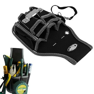 9 in1 Electrician Waist Pocket Tool Belt Pouch Bag Screwdriver Utility Holder CW