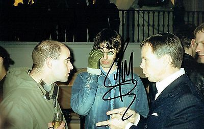 Liam Gallagher Hand Oasis Signed Autographed Colour Glossy Picture - Bonehead