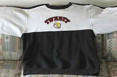 Warner Brothers Looney Tunes Tweety Bird Embroidered Sweater. Size: Small.