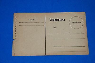 1918 World War German Captain Field Post Vintage old Card WWI Antique 112