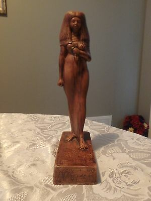 Egyptian Statue -- Musee du Louvre -- Lady Tuy