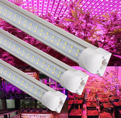 Indoor Plant Led Grow Light Full Spectrum Pink T8 600MM Veg Herb Growing Tubes
