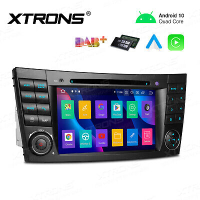 "7"" Auto Car Stereo DVD GPS Navigation Radio Player For Benz E-Class W211 W219"