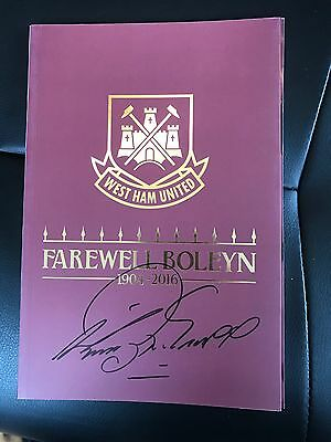 2 WEST HAM FINAL PROGRAMMES 1 Signed by Harry 1 by Geoff £27.50