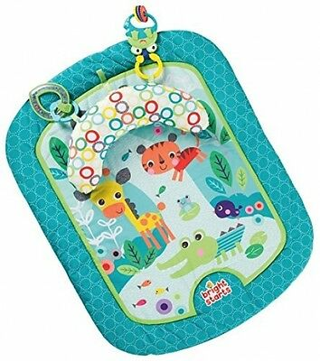Bright Starts Tummy Mat Refresh Rattles Activity Time Baby Toy