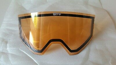 Spy Ace Snow Goggles Replacement Lens - Persimmon