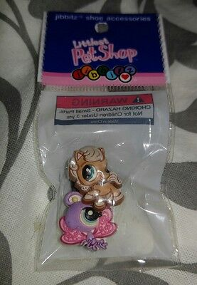 🌟New🌟 Authentic Crocs Jibbitz Shoe Charms Littlest Pet Shop Butterfly & Horse