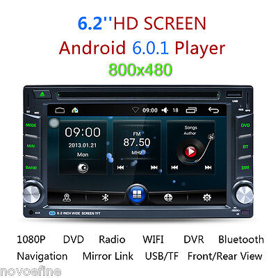 autoradio 2 din gps navigatore bluetooth android 5 1 1 auto lettore dvd player eur 146 99. Black Bedroom Furniture Sets. Home Design Ideas