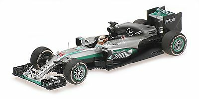 Minichamps 417160244 1/43 2016 Mercedes W07 Lewis Hamilton Chinese GP F1 Model