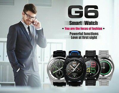 Smart Watch no.1 G6 bluetooth Heart Momitor Orologio digitale Android IOS