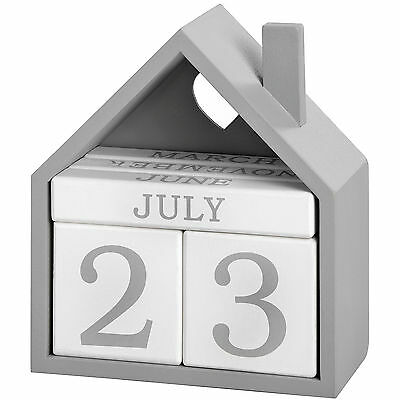 Wooden Perpetual Calendar - Useful Addition To Both Home And Work.