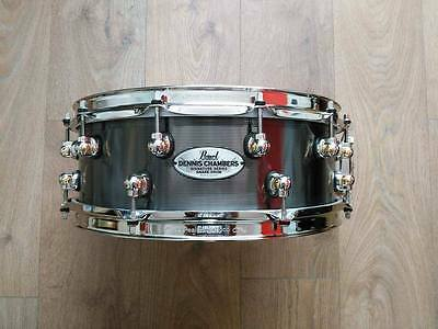 """Pearl Dennis Chambers Signature 14x5"""" Snare (Ex-review model)"""