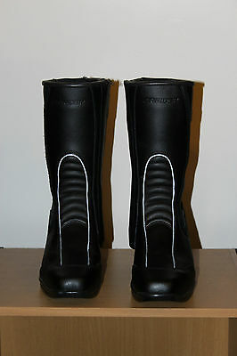 DRIRIDER size L5 Lady's leather bike boots