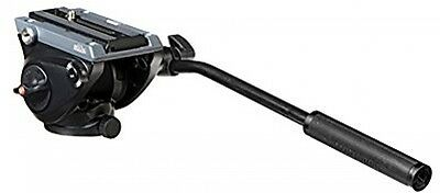 Manfrotto Lightweight Fluid Drag System Video Head With Flat Base