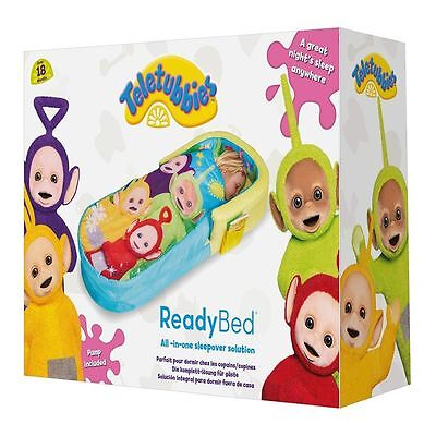 Teletubbies My First ReadyBed - Toddler All in One Airbed and Sleeping Bag