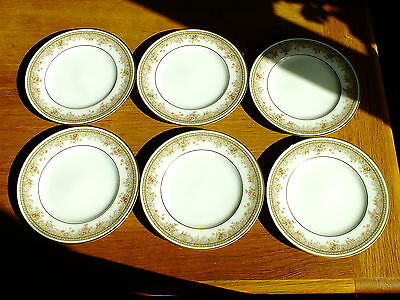 Noritake Ireland Morning Jewel Tea / Side / Bread & Butter Plates X 6