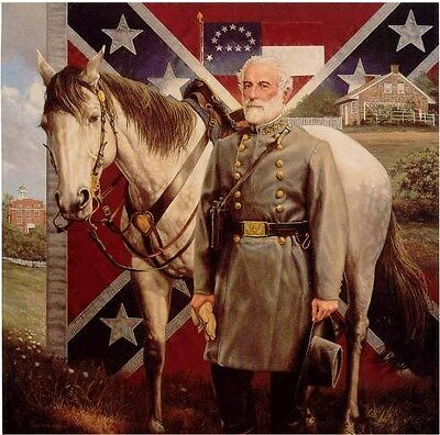 GENERAL ROBERT E. LEE by Michael Gnatek Art print CSA