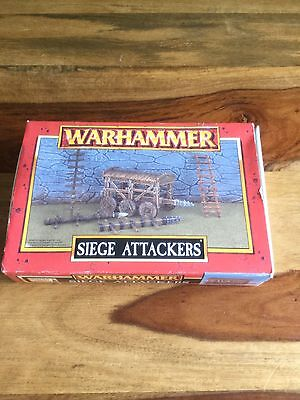 Games Workshop Warhammer Siege Attackers Fantasy Scenery,new Opened.