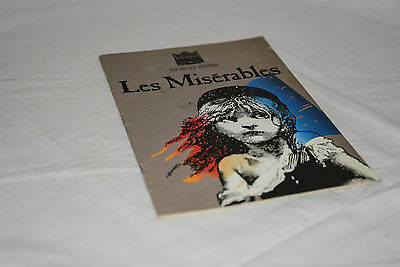 LES MISERABLES 1985 Manchester Palace Theatre programme: Colm Wilkinson M Ball