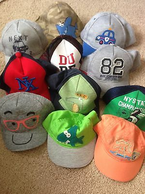 BNWOT 100 Next Caps/ Summer Hats. Various Styles & Sizes. Job Lot. Market Trader