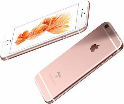 IPhone 6s Plus Rose Gold 16GB Network EE