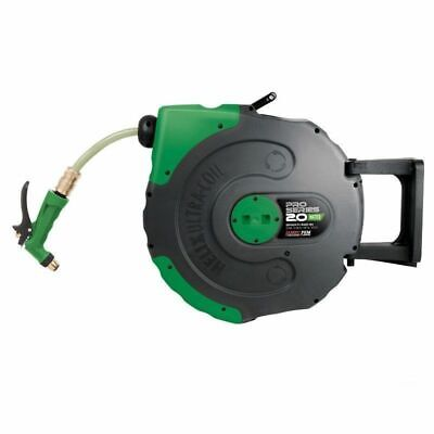 Jamec Pem Pro Series HELIX Retractable Water Hose Reel 20m - JA58.1045