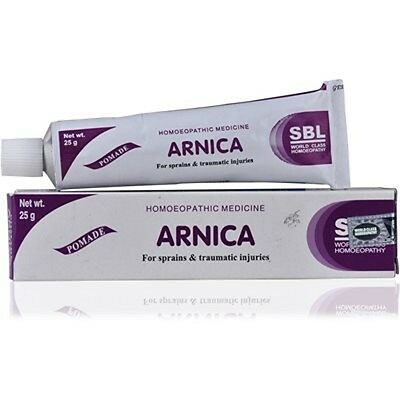 sbl Muscular Pain Sprain muscle ARNICA Homeopathic Cream ointment 25g free ship,