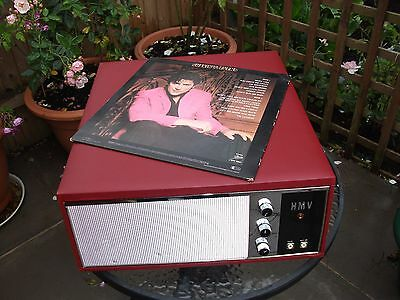 1960's Hmv Valve Record Player
