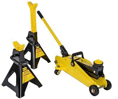 JEGS Performance Products 79002 Hydraulic Utility Floor Jack & Jack Stands Capac