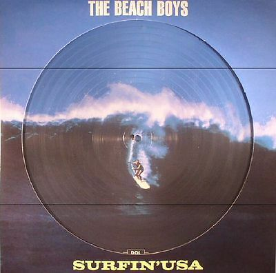 BEACH BOYS, The - Surfin USA - Vinyl (limited picture disc LP)