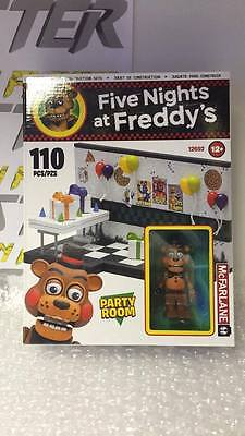 FIVE NIGHTS AT FREDDY'S SMALL Party Room McFarlane