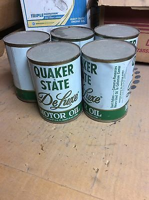 Never Opened Classic Vintage Deluxe Quaker State Motor Oil