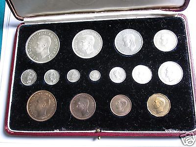 1937 Royal Mint Proof 15 Coin Set