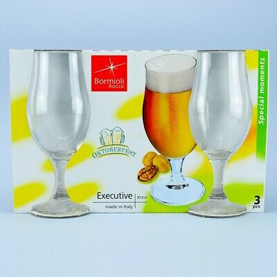 Bormioli Calice Birra Executive 37,5 Cl 3Pz