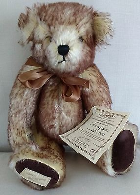 Deans Tipped Mohair Teddy Bear - Jimmy Bean -  No 26 Of 500 - New With Tags